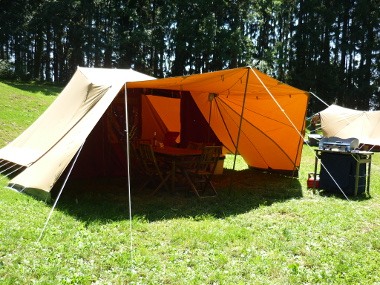 Tent hire 6 persons