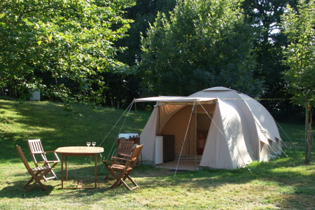 Rental tent 4 persons